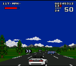 Lotus Turbo Challenge (USA, Europe) In game screenshot